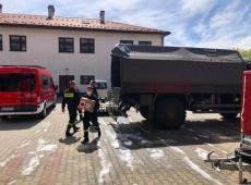 Działania gorlickich strażaków w walce z koronawirusem