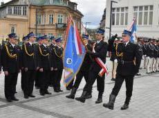 Obchody 130 lecia Zakopiańskiej Straży Pożarnej oraz przekazanie sztandaru dla KP PSP w Zakopanem