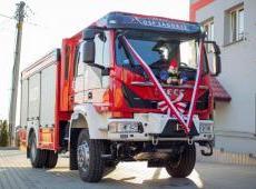 Uroczyste przekazanie samochodu ratowniczo-gaśniczego dla OSP Zagórze