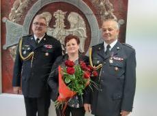 Przejście na zaopatrzenie emerytalne Komendanta Powiatowego PSP w Brzesku