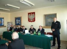 Narada podsumowująca 2019 r. w Komendzie Miejskiej  PSP w Tarnowie