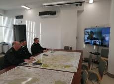 Szkolenie jednostek OSP z terenu powiatu bocheńskiego dot. koronawirusa COVID-19