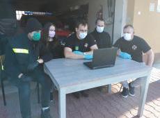 Powiat bocheński – kolejny cykl szkoleń jednostek OSP dot. koronawirusa COVID-19