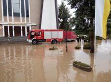 Działania przeciwpowodziowe na terenie powiatu bocheńskiego
