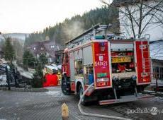 Tragiczny pożar budynku w Zakopanem
