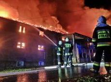 Izdebnik – Pożar zakładu obuwniczego.
