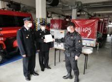 Sprzęt do przeciwdziałania rozprzestrzeniania się koronawirusa trafił do jednostek OSP z KSRG z terenu powiatu gorlickiego