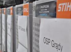 Przekazanie kolejnej partii Pakietów Medycznych dla jednostek OSP z terenu Powiatu Dąbrowskiego