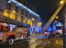 Pożar w Filharmonii Krakowskiej