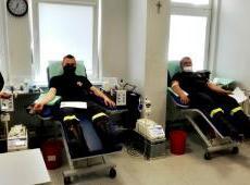 Ponad 18 litrów krwi ze strażackiej akcji trafiło do osób potrzebujących tego bezcennego daru serca