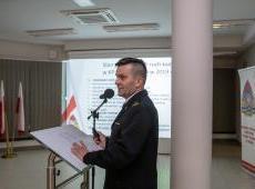 Roczna narada sprawozdawcza w Komendzie Powiatowej Państwowej Straży Pożarnej w Bochni