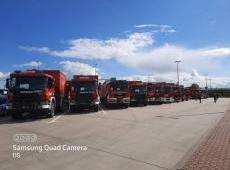 Strażacy z KM PSP Nowy Sącz wiozą pomoc dla Białorusi w ramach Mechanizmu Ochrony Ludności Unii Europejskiej