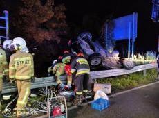 Seria groźnych wypadków drogowych