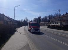 Kampania informacyjna jednostek OSP na terenie powiatu gorlickiego