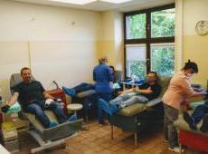 Strażacy krwiodawcy wspierają RCKiK w okresie pandemii Koronawirusa.
