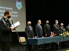 Posiedzenie Zarządu Oddziału Wojewódzkiego Związku OSP RP województwa małopolskiego